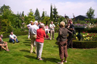 Open tuin in Parkhof Swalmen